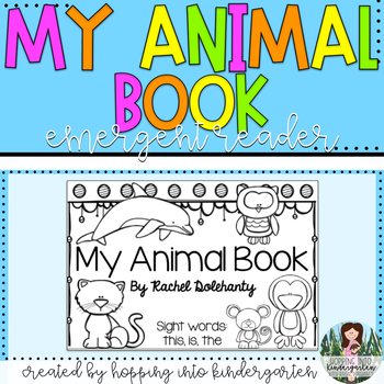 My Animal Book - Emergent Reader