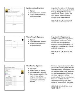 My Antonia – Comprehension and Analysis Bundle