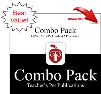 My Antonia LitPlan Combo Pack Lesson Plans
