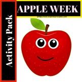 Apple Week (Activities, Flash cards, ELA Worksheets, Games, Poems etc)
