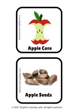 Apple Week (Activities, Flash cards, ELA Worksheets, Games, Poems etc)