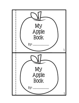My Apple Book (Printable Reader)