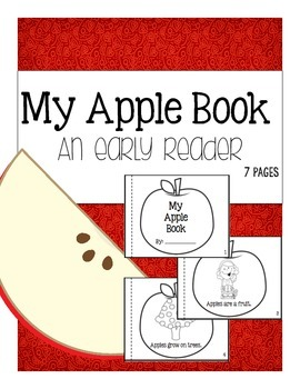 My Apple Book (Printable Reader)