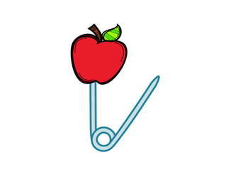 My Apple Safety Pins