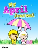 My April Journal, Prompt Questions, Smartboard, Writing