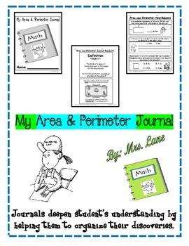 My Area & Perimeter Journal