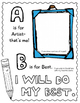 My Art ABC Sketchbook: 26 Alphabet Activities for Art Class