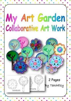 My Art Garden Collaborative Art Resource