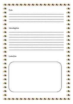 My Asian Animal Report