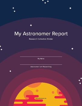 My Astronomer Report