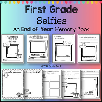 End of Year Activity - My AWESOME First Grade Memory Book