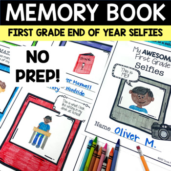 My Awesome First Grade Year Booklet  - End of Year