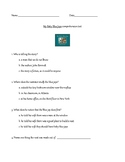 My Baby Blue Jays comprehension test