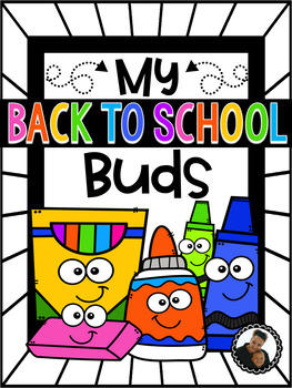 My Back to School Buds ~ School Supply Practice
