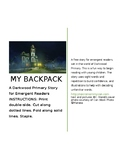 My Backpack: A story for emergent readers