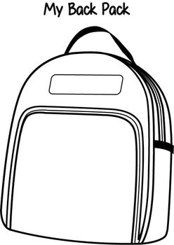 My Backpack Activity