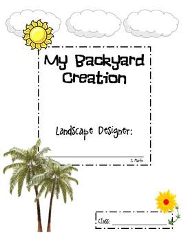 My Backyard Creation Volume Landscape Design Lesson