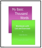 My Basic Thousand Words For English Learners