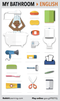 My Bathroom > PDF + Interactive Lesson