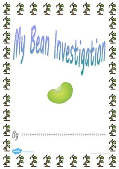 My Bean Investigation Booklet