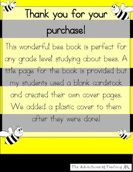 My Bee Book!