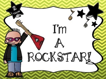 My Behavior ROCKS!  Behavior Management & Tracking System (Rockstar Theme)