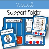 Visual Folder Supports for kids with Autism