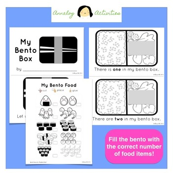 My Bento Box: A Number Words Review Activity (Printable Mini Book!)