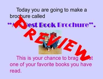 My Best Book Brochure
