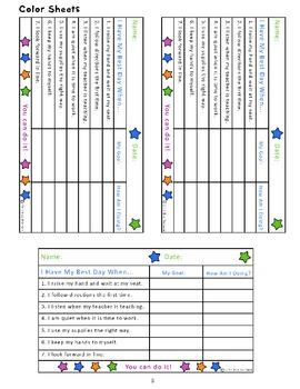 My Best Day! Behavior Management Kit for Primary Grades
