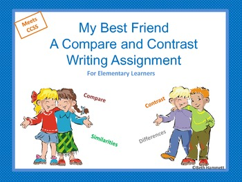 Compare and contrast two friends essay