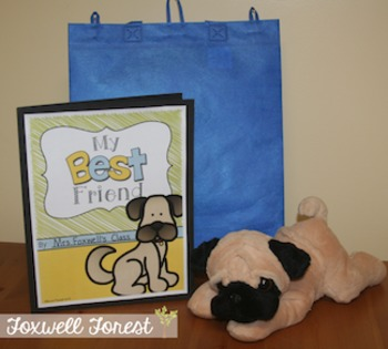 My Best Friend {A Literature Take-Home Bag with Mudge}