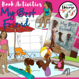 My Best Friend Interactive Read Aloud Book Post-It Notes and Worksheets