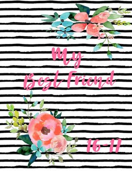 My Best Friend Teacher Planner