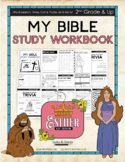 My Bible Study Workbook - Queen Esther (KJV) Great for 2nd Grade & Up!
