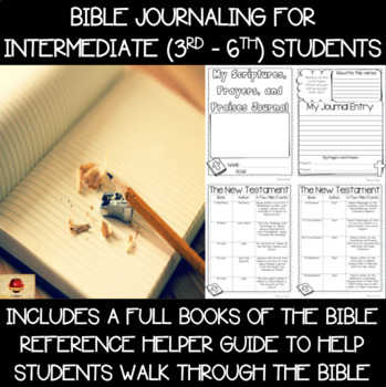 Bible Verse Reflection and Prayers Year-Long Journal! {Int