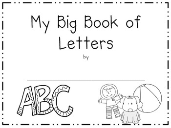 My Big Book of Alphabet Letters