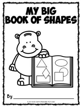 My Big Book of Shapes | Distance Learning