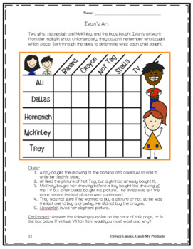 Logic Puzzles for Primary Grades : Big Fat Bundle of Fun