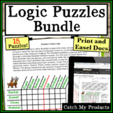 Digital Logic Puzzles Worksheets