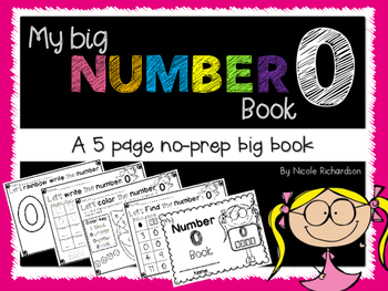 My Big NUMBER 0 Book~ NO-PREP