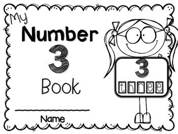 My Big NUMBER 3 Book~ NO-PREP