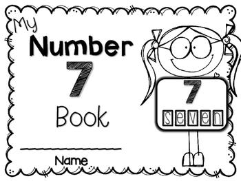 My Big NUMBER 7 Book~ NO-PREP