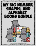 My Big Number, Shapes, and Alphabet Books BUNDLE   Distanc