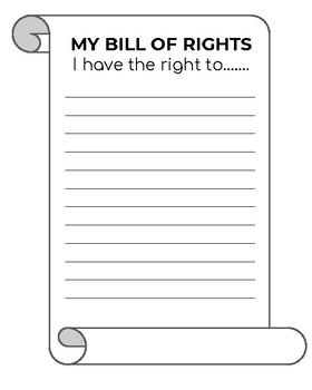 My Bill of Rights