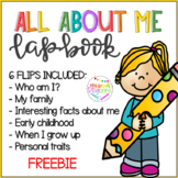 All about me lapbook - Back to school FREEBIE