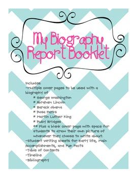 My Biography Report