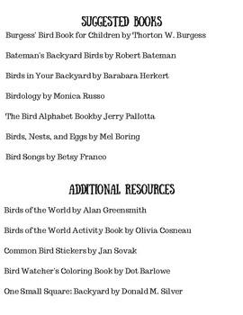 My Bird Binder--Nature Journal
