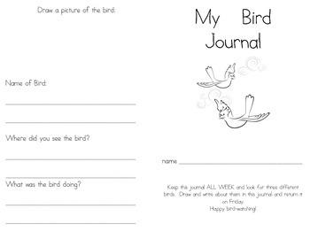 My Bird Journal