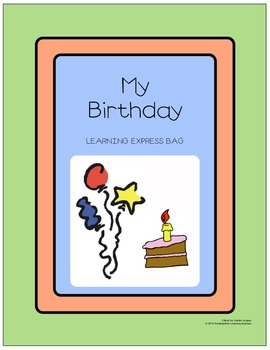 My Birthday Learning Express Bag